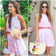 Carrie Bradshaw Lied & A Southern Drawl scream summer in our Selina Set. Click through to shop now.
