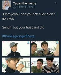#thanksgivingwithexo
