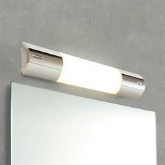 Buy focused lighting for your mirror like striking white and chrome Striplite from the renowned brand HiB. Includes fluorescent tube and diffused cover. Shower Lighting, Bathroom Lighting, Focus Light, Extractor Fans, Color Changing Lights, Simple Bathroom, Chrome Finish, Plumbing, Shaving