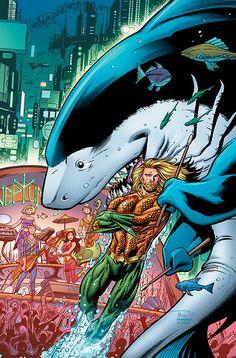 Aquaman Jabberjaw Special - Another Universe Marvel Vs, Marvel Dc Comics, Marvel Facts, Batman, Superman, Geeks, Aquaman Dc Comics, Univers Dc, Nerd