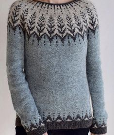 Fair Isle Knitting, Hand Knitting, Clothing Patterns, Knitting Patterns, Norwegian Knitting, Icelandic Sweaters, Fair Isle Pattern, Sweater Design, Knitted Hats