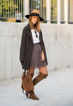 Ms Treinta - Fashion blogger - Blog de moda y tendencias by Alba.: look otoñal