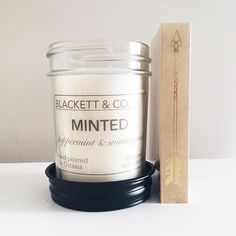 BLACKETT & CO. Peppermint and wintergreen essential oils
