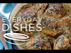White Wine Chicken Recipe Video