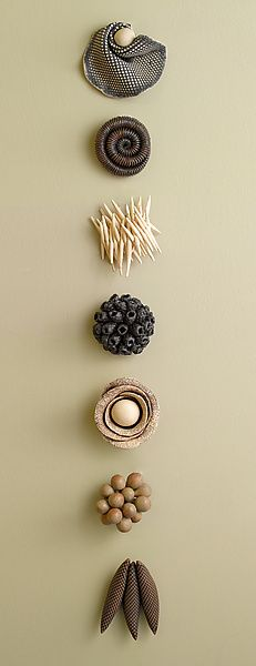Ceramic Artifacts by Kelly Jean Ohl: Ceramic Wall Art available at www.artfulhome.com