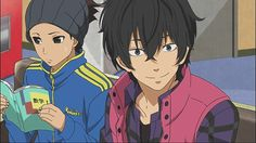 Haru and Sasayan from My Little Monster Anime