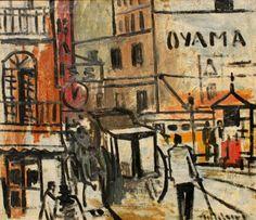 perspectiva con cafetera Alceu Ribeiro (1919-2013), uruguayo. Es un pintor con trabajos en la figuración y la abstracción. Ha hecho...
