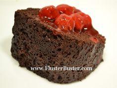 Dump & Bake Microwave Cake