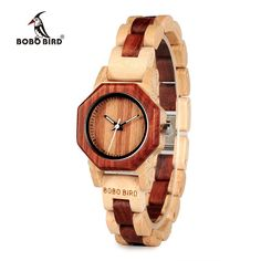 c2647d99376 Women Watch Wood Wrist watches with Wooden Band Female Clock Lady Quartz  Watch relogio feminino