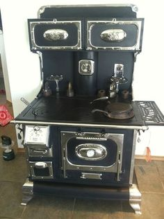 Wonderful old cook stove.
