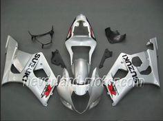 SUZUKI GSX-R 1000 2003-2004 K3 ABS Verkleidung - Silber #rennverkleidungsuzukigsxr1000 #gsxr1000verkleidung #suzukigsxr1000verkleidung