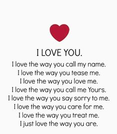 I love you with every fiber of my being.heart mind body and soul are yours ❤❤ Cute Love Quotes, Love Husband Quotes, Love Quotes For Her, Romantic Love Quotes, Love Yourself Quotes, Love Poems, Sweet Quotes, Awesome Quotes, Quotes Thoughts