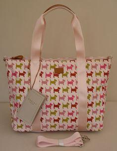 "Radley Holdall/Very Large Shoulder Bag - ""Euston"" - BNWT - RRP £89 - NEW | eBay Radley, Large Shoulder Bags, Suitcases, Scottie, Diaper Bag, Zipper, London, Ebay, Collection"