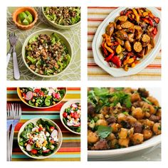 South Beach Diet Phase One Recipes Round-Up for March 2013 from Kalyns Kitchen