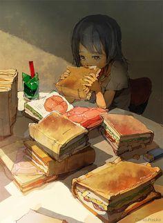 Art by Demiyu Posuka / Japan http://posuka.iinaa.net/ & http://www.pixiv.net/member.php?id=33333