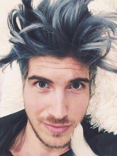 Joey Graceffa Joey Graceffa, Dying Your Hair, Dye My Hair, Escape The Night, Hair And Beard Styles, Hair Styles, Cool Hair Color, Hair Colors, Cut And Color
