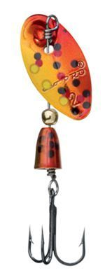 Eco Pro Spins Tungsten Inline Spinners - 1/8 oz. - Gold Red