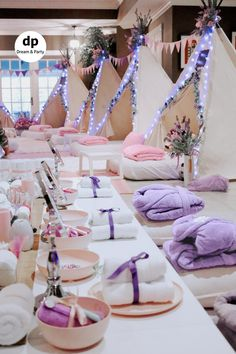 Spa & Sleepover Party Rentals - Products Provided Dream & Party Spa & Sleepover Party Rentals - Products Provided Dream & Party Painting Moving Decor and Organization Birthday Sleepover Ideas, Kids Spa Party, Sleepover Birthday Parties, Birthday Party For Teens, Paris Birthday, Bachelorette Parties, 13th Birthday, Sleepover Party Ideas For Girls Tween, Slumber Party Ideas