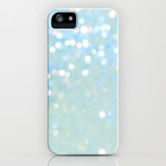 Glitter Blue mermaid iPhone & iPod Case by Blanc Coco Photographe - $35.00