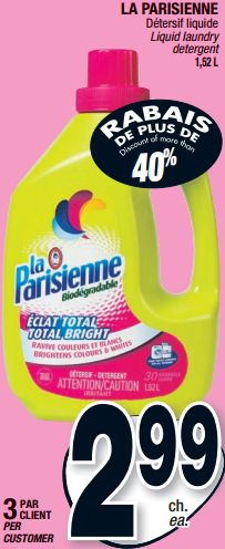 parisienne-2-99 Coupon, Client, Personal Care, Personal Hygiene, Coupons