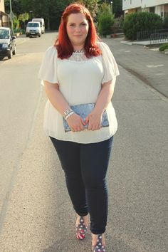Curvy Sequins - Plus Size Outfit & Nail Design Blog: Gartenparty Outfit