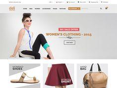 Deli - eCommerce HTML Template by DevItems LLC