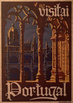 Portugal, Sociedade Propaganda de Portugal, Mosteiro dos Jerónimos, poster