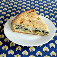 the little house in the city: Chard and Ricotta Tart