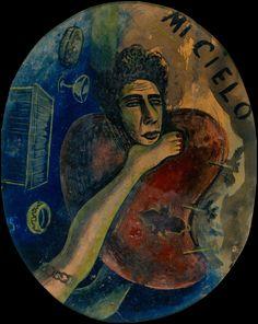 DAVID ALFARO SIQUEIROS, Autorretrato