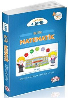 4.Sınıf Butik Matematik Konu Anlatımlı