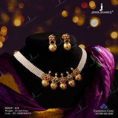 Style your stunning beauty. Jewelry Design Earrings, Gold Jewellery Design, Necklace Designs, Ring Designs, Gold Temple Jewellery, Gold Jewelry, Diamond Jewelry, Gold Necklace, Gold Bangles