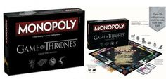 Game of Thrones aura droit à sa propre version du Monopoly #Hasbro #HBO #GOT