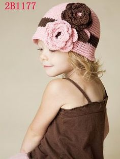 My Lil' Zahra Collection: FLOWER HEADBAND AND CROCHET HAT - AVAILABLE NOW