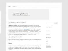 App Building Software https://www.domainki.com