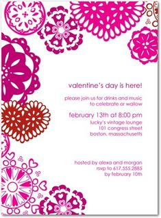 Valentines day party invitation party pinterest party divine doilies valentines day party invitations also love getting inspiration for invitation wording from the professionals they have a whole section on stopboris Gallery