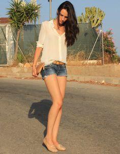 Moda con shorts