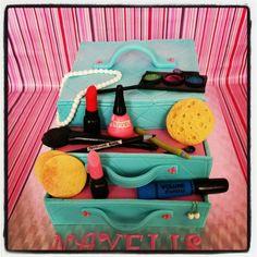 Make up Cake projectje met vriendinnetje :)