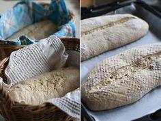 Paine cu maia naturala si faina de secara   Rețete - Laura Laurențiu Bean Bag Chair, Deserts, Bread, Food, Brot, Essen, Beanbag Chair, Postres, Baking