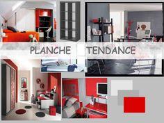Planche Tendance d'une chambre d'ado