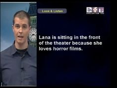 Intermediate Levels - Lesson 1: Horror Films - YouTube