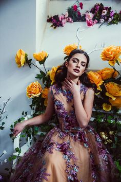The Concept: We create elaborate scenography for showcasing our designs. Our brand, Chotronette makes fairytale-inspired dresses and for every collection, we try to make elaborate photoshoots. This time, we were half-in-love with Lana del Rey, so we made up a parallel universe where she would fit perfectly – filled with ivy, flowers and balloons.