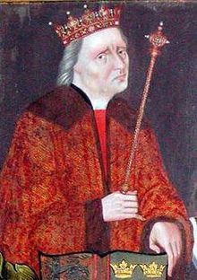 Christian I, lived 1426–1481, Danish monarch, king of Denmark 1448–1481, Norway 1450–1481 and Sweden 1457–1464, under the Kalmar Union. Married to Dorothea of Brandenburg. 6X great-grandfather of Catherine the Great.