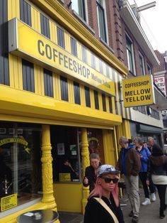 One of the first Coffee Shops in Amsterdam