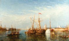 FELİX ZİEM 1821 - 1911 HALİÇ