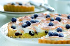 Citronový pusinkový koláč s ovocem Cereal, Cheesecake, Cooking, Breakfast, Sweet, Food, Cakes, Pies, Lemon