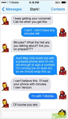 Best of Spider-Man on Texts from Superheroes
