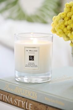 lovely jo malone candles - want to try the sweet lime and cedar one next
