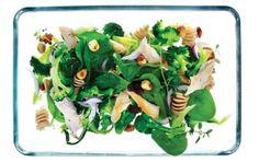 Spinatsalat med kylling