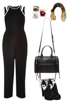 """""""Untitled #1111"""" by sophloveshaz ❤ liked on Polyvore featuring River Island, Forever 21 and Charlotte Tilbury"""