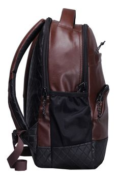F Gear Luxur Brown 25 liter Laptop Backpack  Amazon.in  Bags a725ebc9aeccd